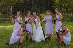Farm Wedding Bridesmaids