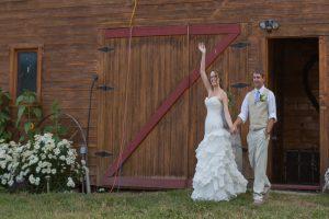 Barn Wedding Venue BC Couple