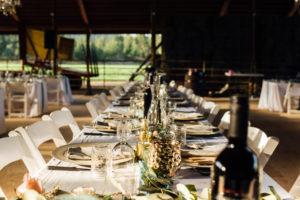 Wedding Table Setting Kelowna Photographer BB Collective
