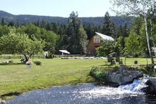 Summerland Barn Wedding Venue Waterfalls