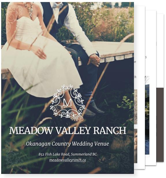 Wedding Packages Brochure
