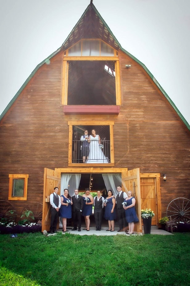 Barn Wedding Location Okanagan