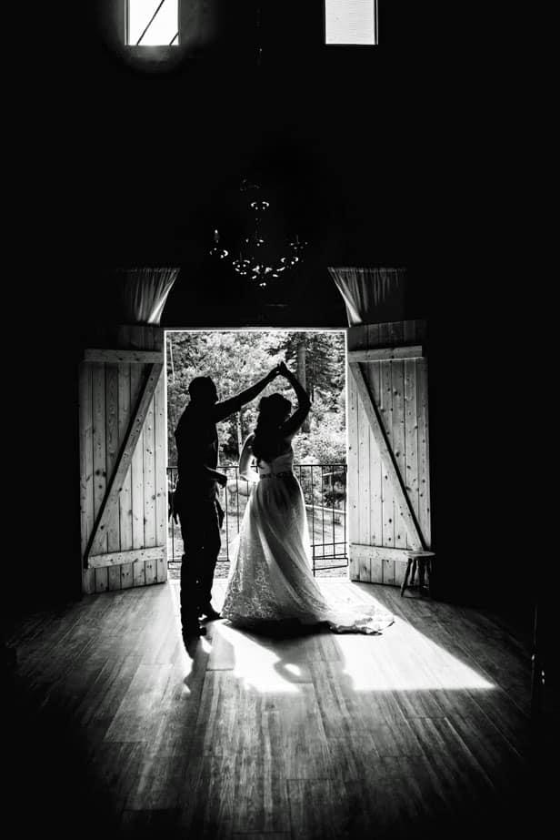 Wedding Dance in a Barn